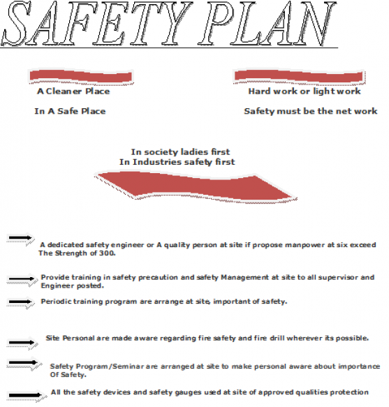 Raj insulation Safety plan – Job Site Safety Plan